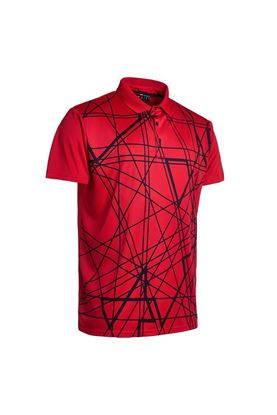 Show details for Abacus Men's Kurt Polo Shirt - Red