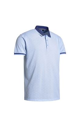 Show details for Abacus Men's Hamilton Polo Shirt - Oxford Blue