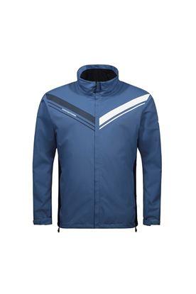 Show details for Cross Sportswear Men's Cloud Waterproof Jacket - Bijou Blue