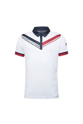 Show details for Cross Sportswear Men's Cut Polo Shirt - White