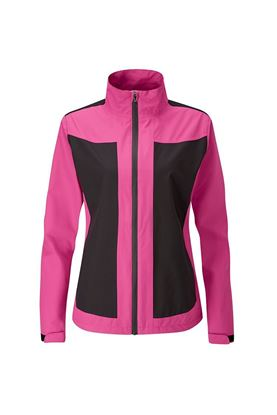 Show details for Ping Ladies Juno Waterproof Jacket - Fuchsia / Black