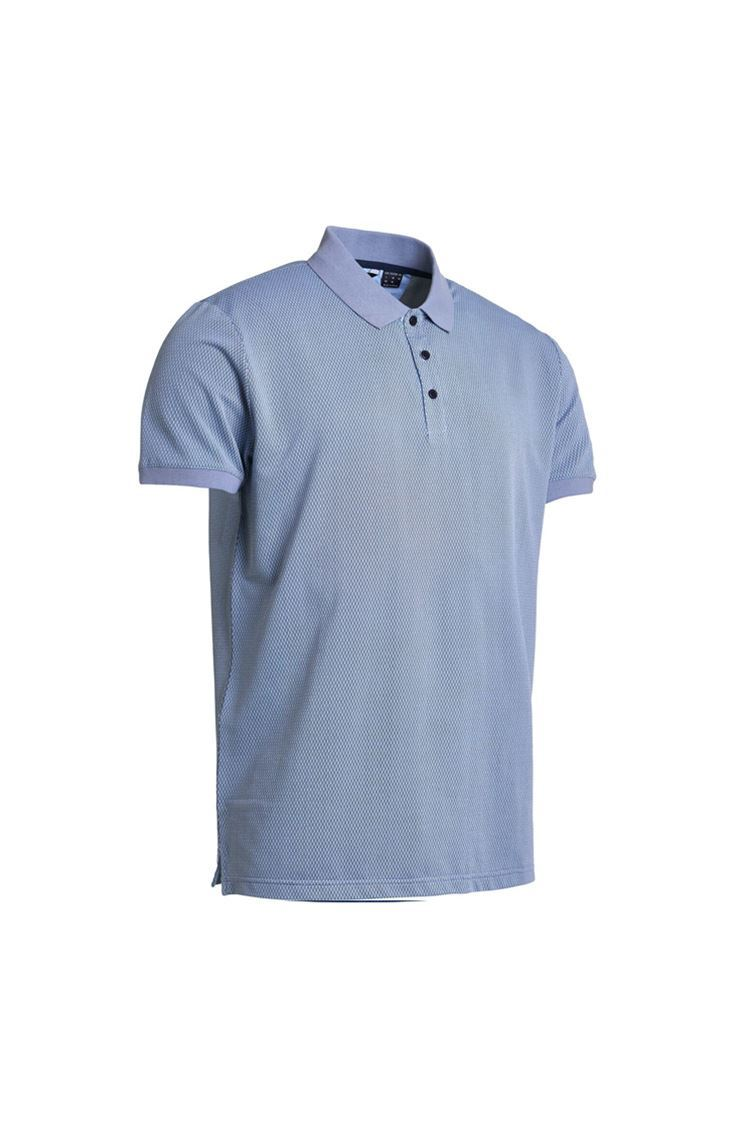 Picture of Abacus Men's Amic Polo  Shirt - Oxford Blue
