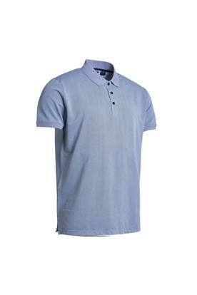 Show details for Abacus Men's Amic Polo  Shirt - Oxford Blue