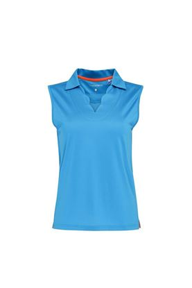 Show details for Swing out Sister Ladies Bali Sleeveless Polo Shirt - Royal Blue