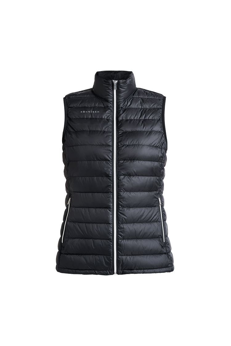 Picture of Rohnisch Ladies Shine Light Down Vest / Gilet - Black