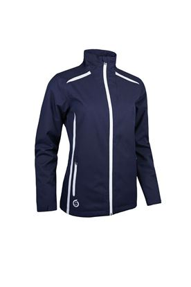 Show details for Sunderland of Scotland Ladies Killy Waterproof Jacket - Navy / White