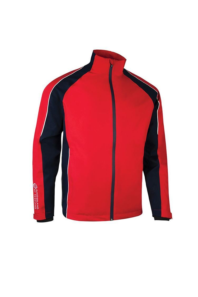 Picture of Sunderland of Scotland Men's Vancouver Pro Waterproof Jacket - Red / Navy / White