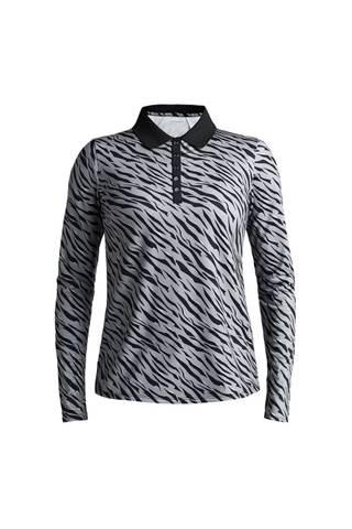Picture of Rohnisch Ladies Achieve Polo Shirt - Grey Zebra