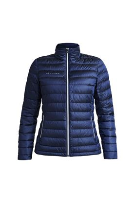 Show details for Rohnisch Ladies Shine Light Down Jacket - Navy