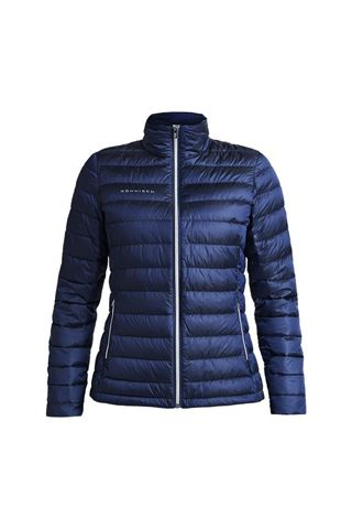 Picture of Rohnisch Ladies Shine Light Down Jacket - Navy