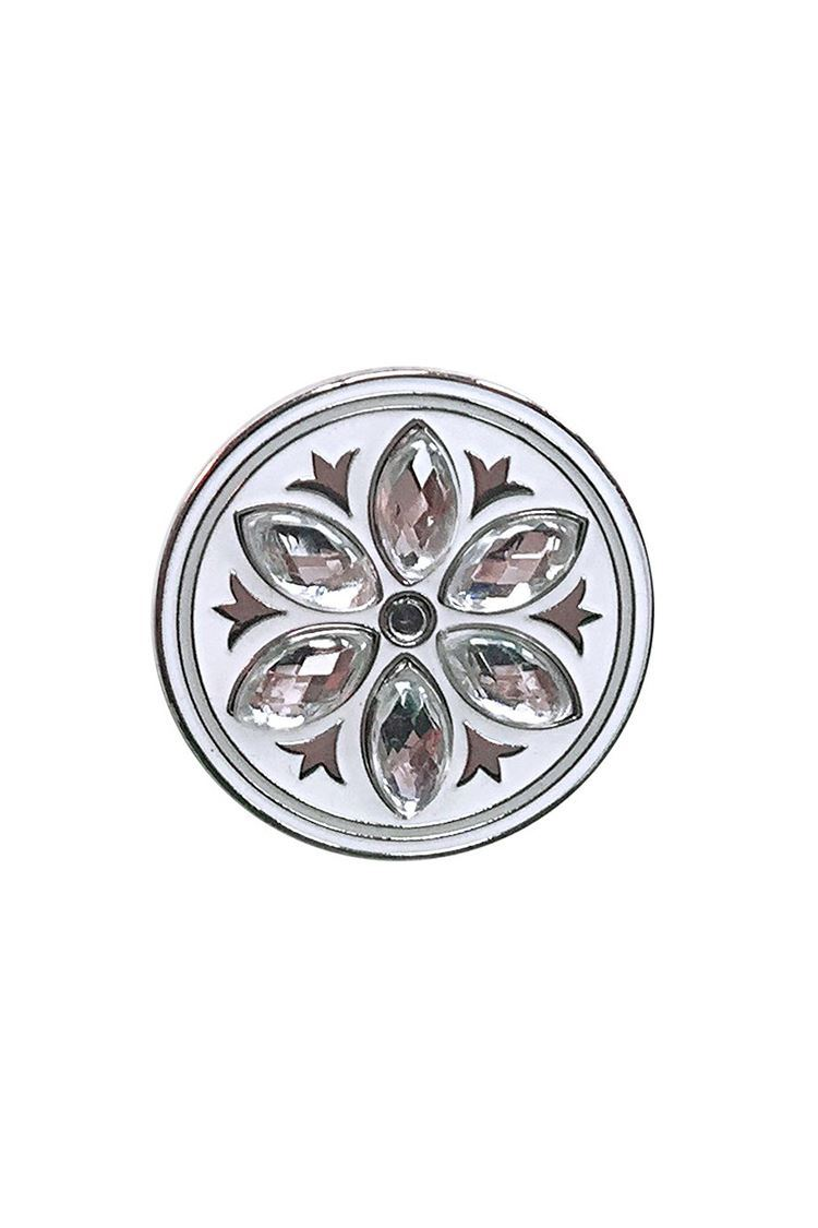 Picture of Surprizeshop Individual Ball Marker - Crystal Flower Ball Marker Clear