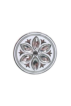 Show details for Surprizeshop Individual Ball Marker - Crystal Flower Ball Marker Clear
