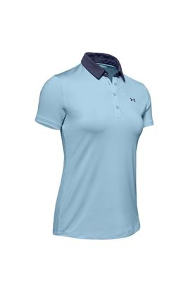 Show details for Under Armour UA Zinger Tipped Polo - Blue/Navy 494