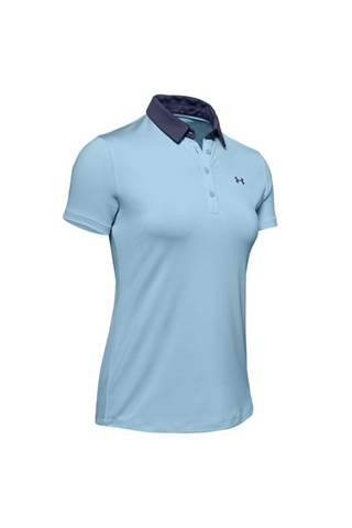 Picture of Under Armour UA Zinger Tipped Polo - Blue/Navy 494