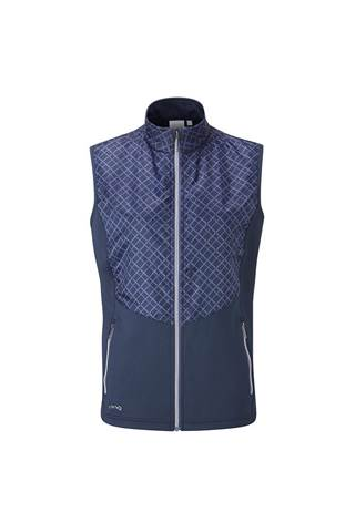 Picture of Ping Golf Ladies Glow Vest / Gilet - Oxford Blue / Marlin