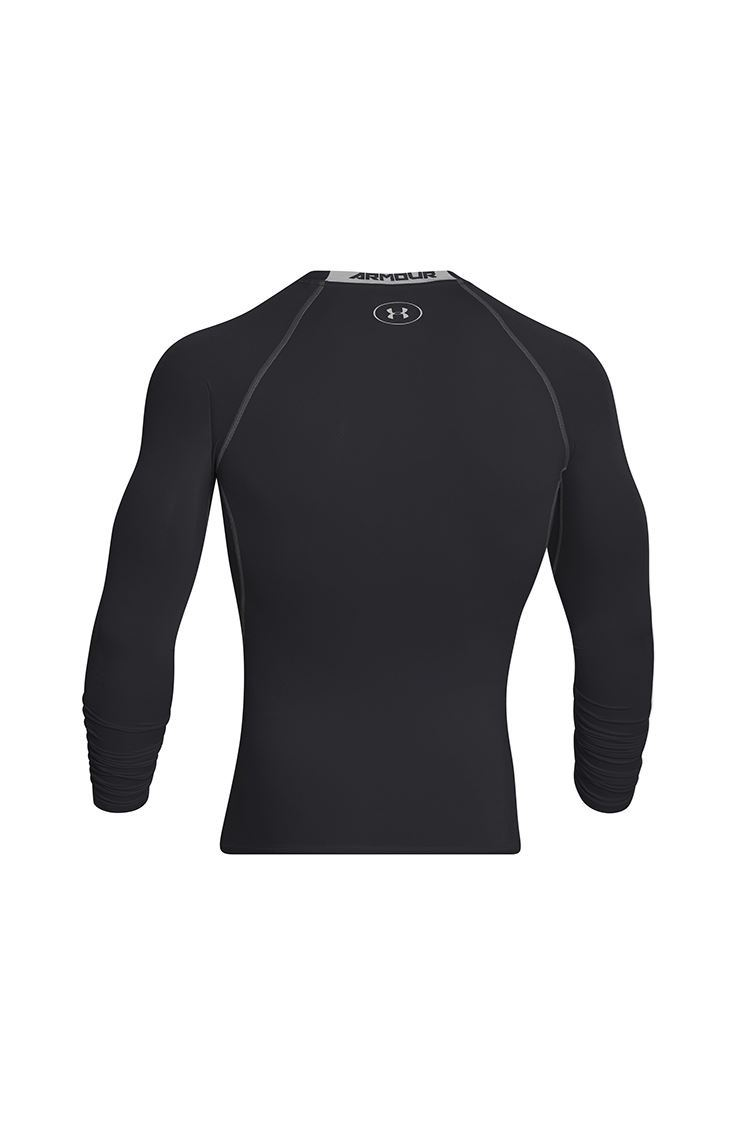 Picture of Under Armour Heatgear Long Sleeve Base Layer - Black