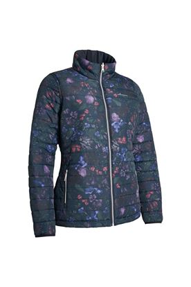 Show details for Abacus Ladies Heaven Padded Jacket - Black Flower