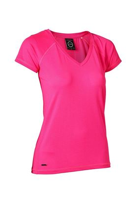 Show details for Daily Sports Ladies Distance Tee - Strawberry