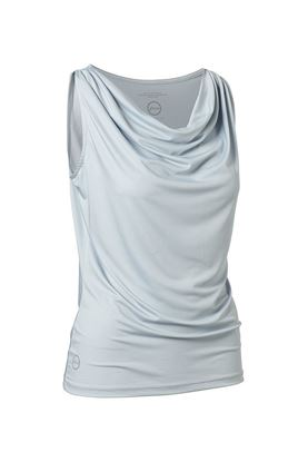 Show details for Daily Sports Ladies Drop Sleeveless Tee - Cloud
