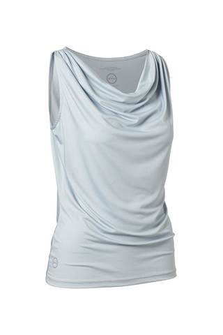 Picture of Daily Sports Ladies Drop Sleeveless Tee - Cloud