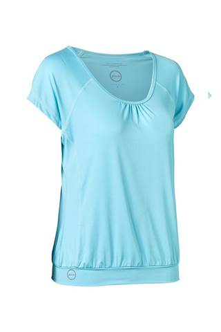 Picture of Daily Sports Ladies Free Tee (Loose) - Pool