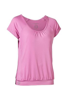 Show details for Daily Sports Ladies Free Tee (Loose) - Rose Bloom