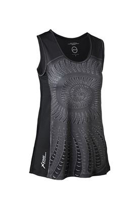 Show details for Daily Sports Ladies Shell Tank - Black/Shell