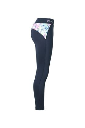 Show details for Daily Sports Ladies Bloom Tights - Navy