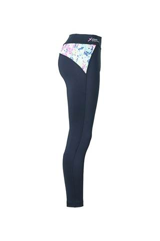 Picture of Daily Sports Ladies Bloom Tights - Navy