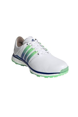 Picture of adidas zns Golf Tour 360 XT-SL 2 Spikeless Golf Shoes - Cloud White / Royal Blue / Glory Mint