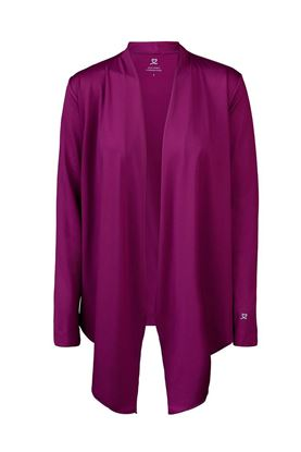 Show details for Daily Sports Mantra Cardigan - Plum