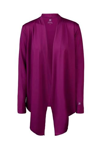 Picture of Daily Sports Mantra Cardigan - Plum