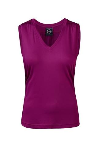 Picture of Daily Sports Free Long Tank - Plum