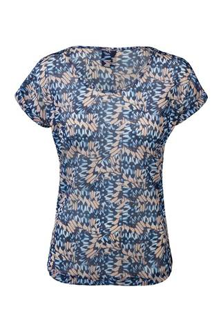 Picture of Daily Sports Butterfly Lady Tee - Navy
