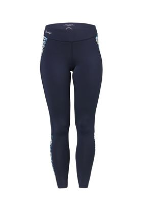 Show details for Daily Sports Butterfly Tights - Navy