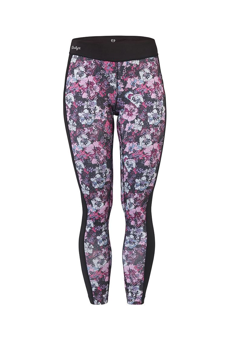 Picture of Daily Sports Bloom Tights - Black