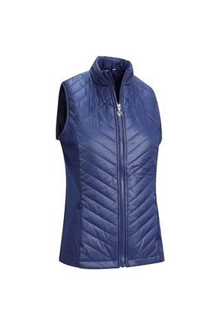 Picture of Callaway Ladies Swing Tech Puffer Vest / Gilet - Peacoat