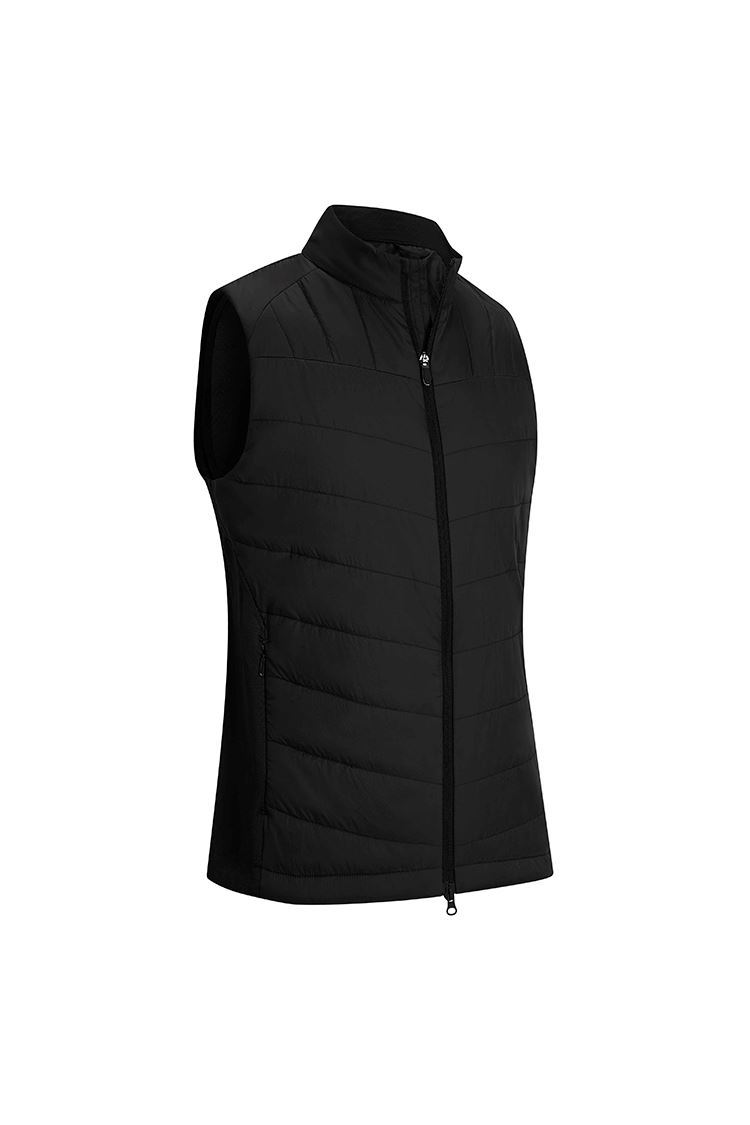 Picture of Callaway Men's Swing Tech Quilted Puffer Gilet / Vest - Caviar