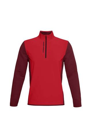 Picture of Under Armour UA Men's Storm Evolution Daytona 1/2 Zip - Red 608
