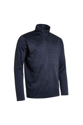 Show details for Abacus Men's Fortrose Half Zip Top - Black 600