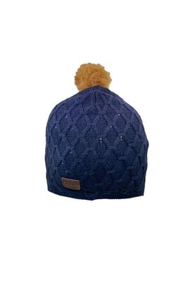 Show details for Abacus Ladies Avondale Knitted Hat - Navy 300