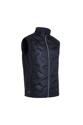 Show details for Abacus Men's Dunes Hybrid Vest / Gilet - Black 600