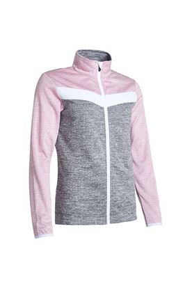 Show details for Abacus Ladies Fortrose Full Zip Fleece - Rosebud 431