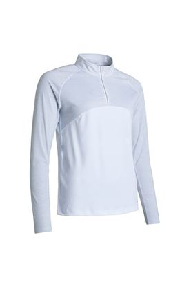 Show details for Abacus zns Ladies Tina Long Sleeve Polo Shirt - White 100
