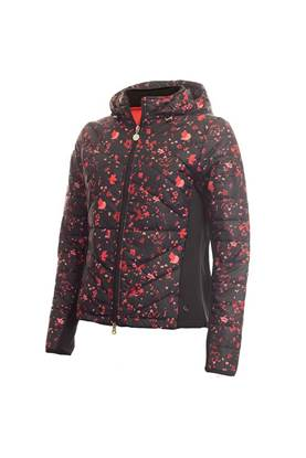 Show details for Green Lamb Ladies Karina Padded Jacket - Black Confetti