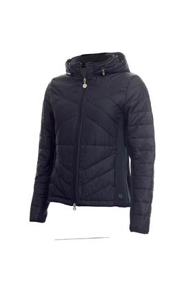 Show details for Green Lamb Ladies Karina Padded Jacket - Navy