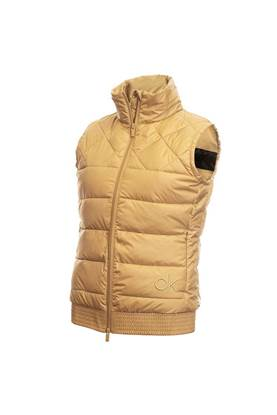 Show details for Calvin Klein Ladies Serra Gilet - Old Gold