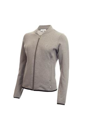 Show details for Calvin Klein Ladies Merz Jacket - Grey Marl