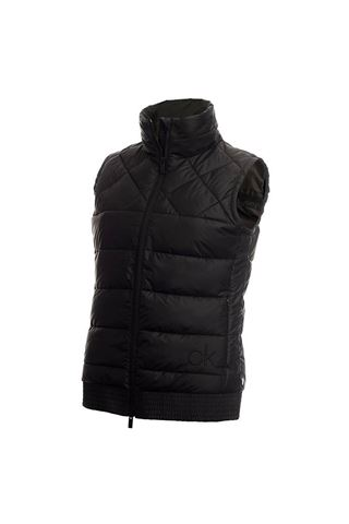 Picture of Calvin Klein Ladies Serra Gilet - Black