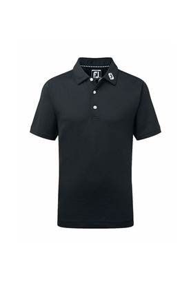 Show details for FootJoy Junior Stretch Polo - Black
